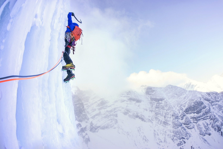 backcountry ice climbing