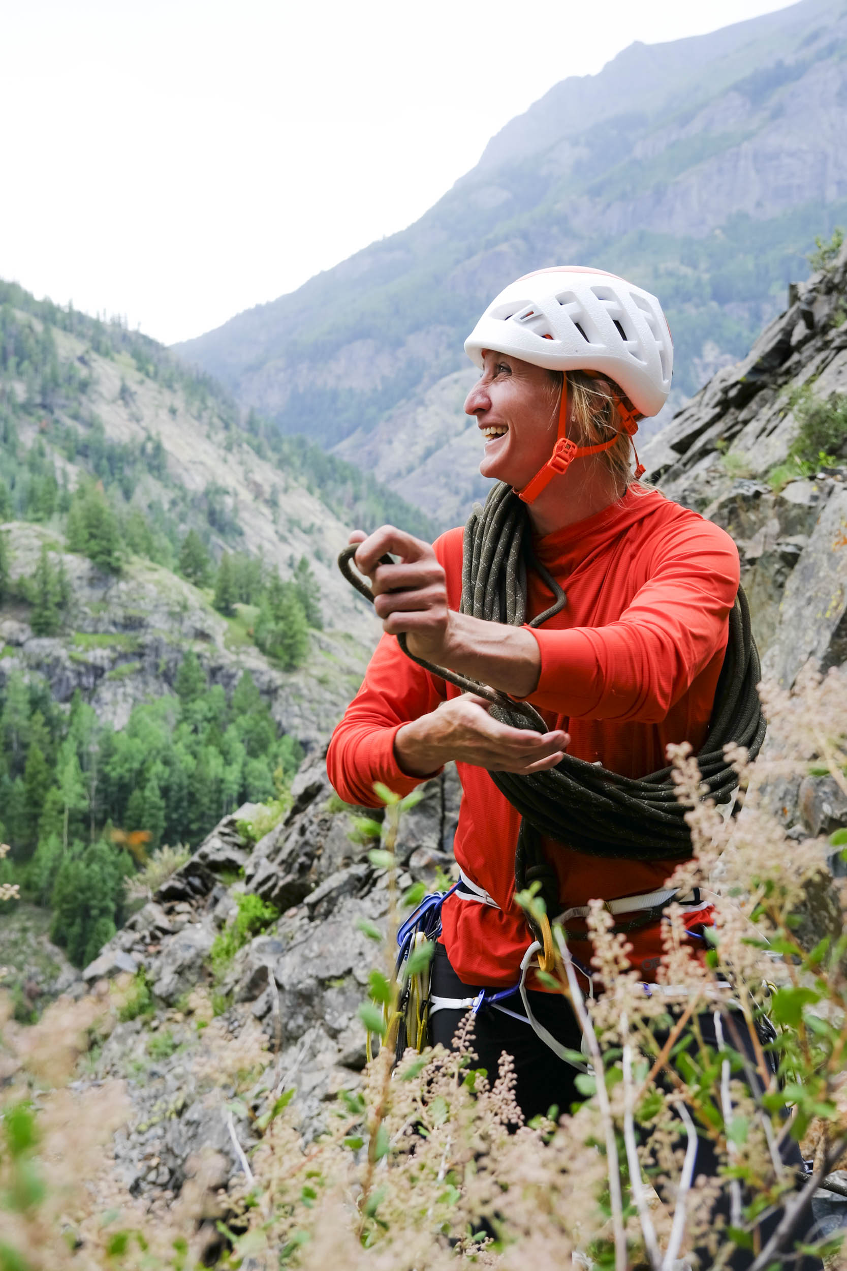 Kristin Arnold guide and climber