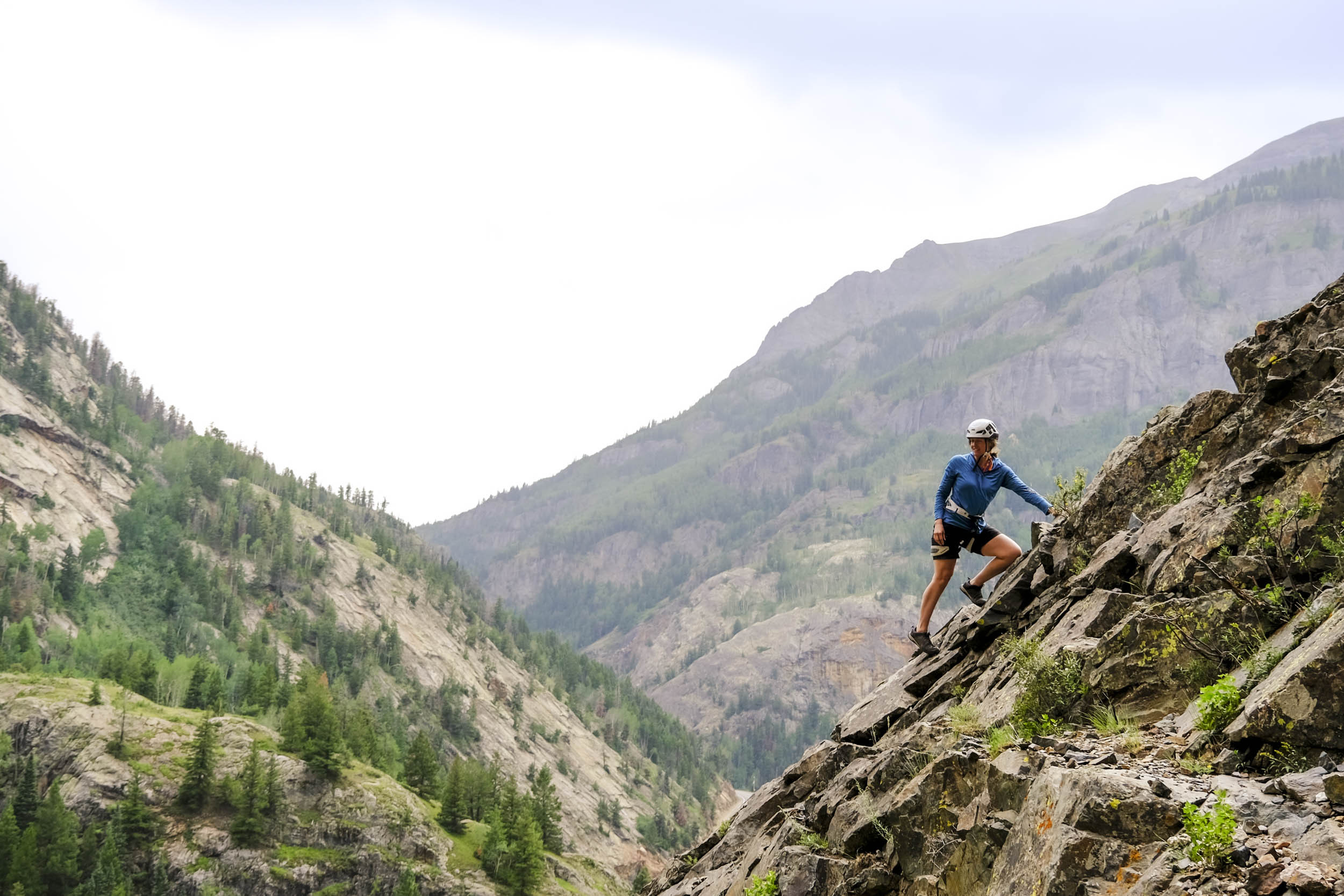 rock climber Sheldon Kerr